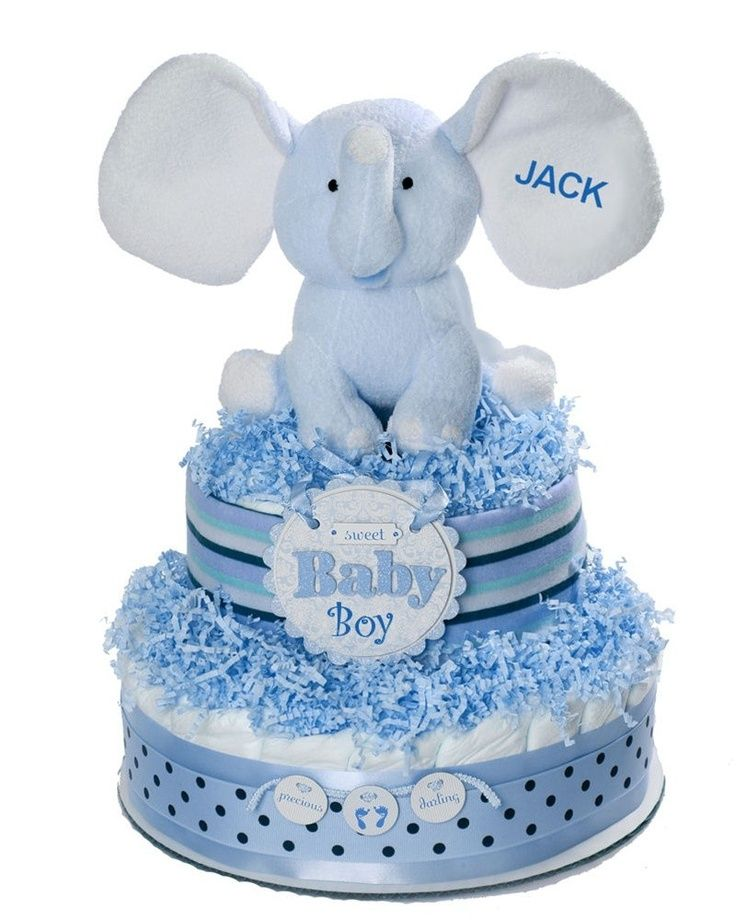 Elephant Themed Baby Shower: Elephant Baby Shower Theme Ideas Diaper Cakes