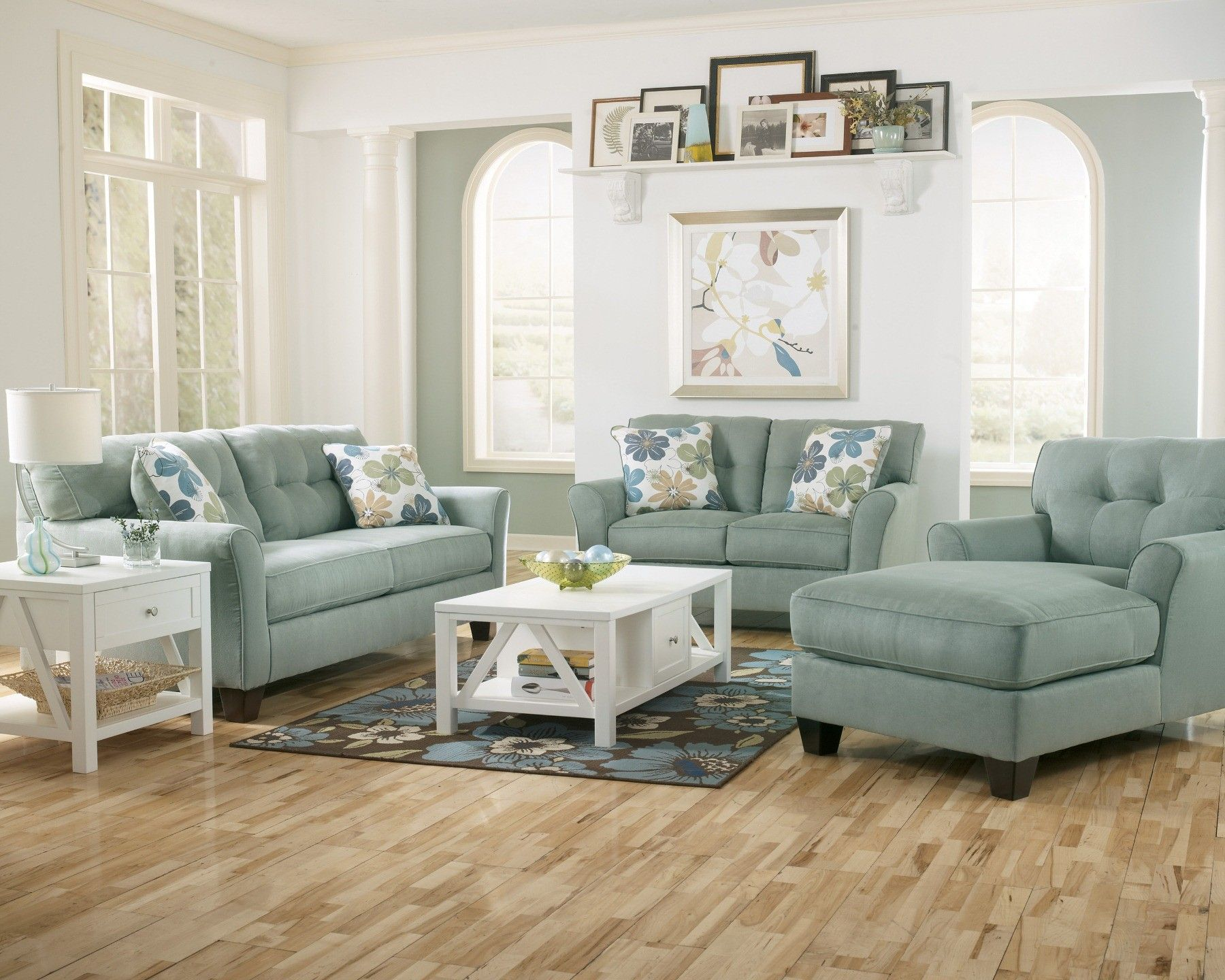 Kylee Lagoon Living Room Set How Homely Pinterest