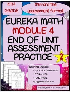 4th Grade Eureka Math End of Module 4 Assessment Practice | Eureka
