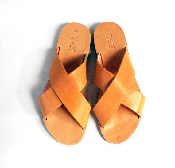 c77ed53c8bfb25 Mens brown sandals greek men sandals casual men by NikolaSandals