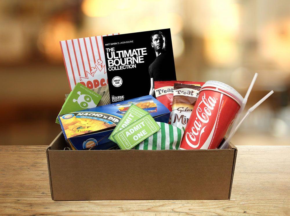 Movie night prequel gift box range the ultimate bourne