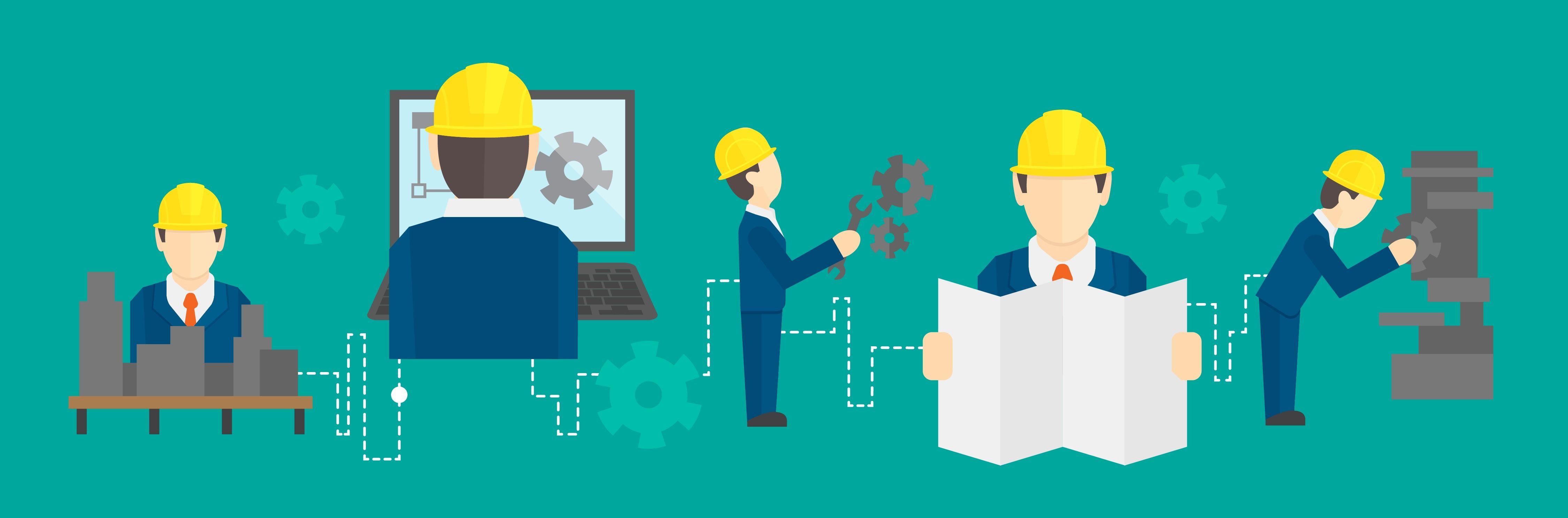 En el campo del ingeniero se debe trabajar en conjunto para lograr ...