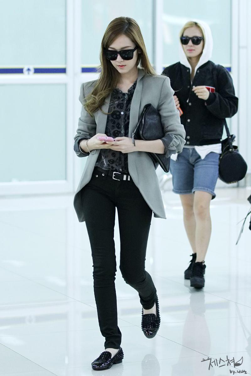 Jessica Cool Airport Fashion Girls 39 Generation So Nyuh Shi Dae Snsd Soshi Shojo
