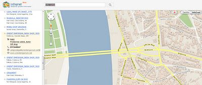 infograd mapa beograda Mapa Ulica Beograda http://.infograd.rs/ | 3D interaktivna mapa  infograd mapa beograda