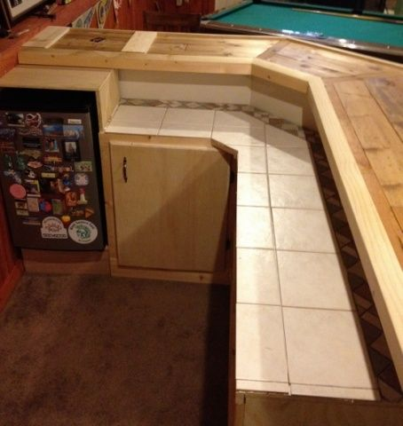 Building My Basement Bar   Woodworking Talk   Woodworkers Forum