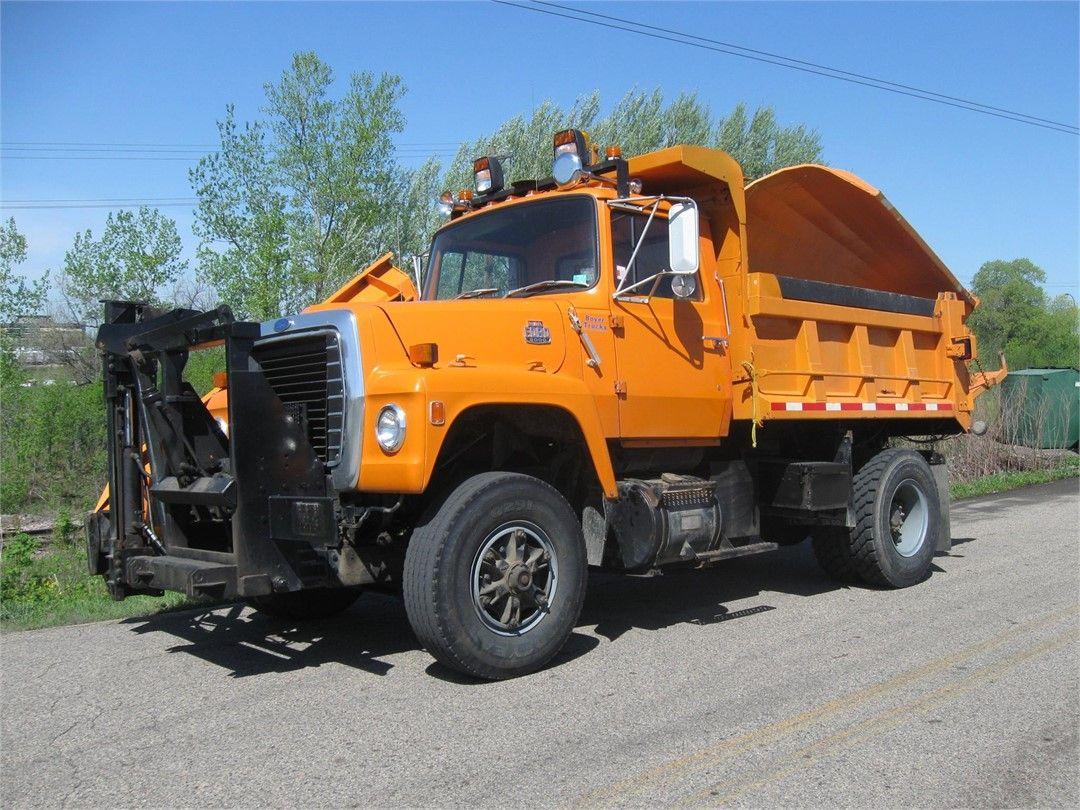 Ford Plow Trucks Plow Truck Trucks Big Rig Trucks