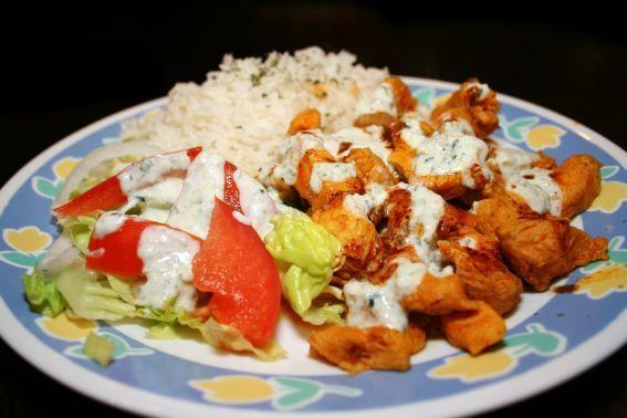 Halal Chicken Rice Nyc Style Recipe Halal Food Cart Recipes