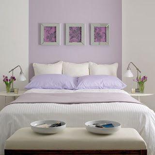 Lieblich Dormitorios Paredes Violetas | Inspiración De Diseño De Interiores
