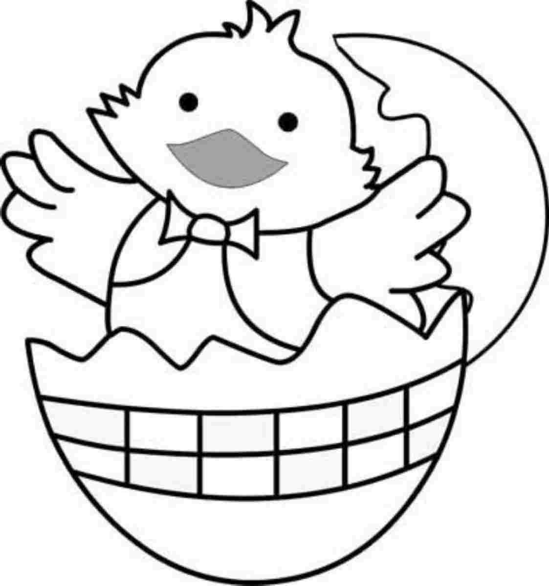 Image result for easter chick colouring pages | Easter | Pinterest ...