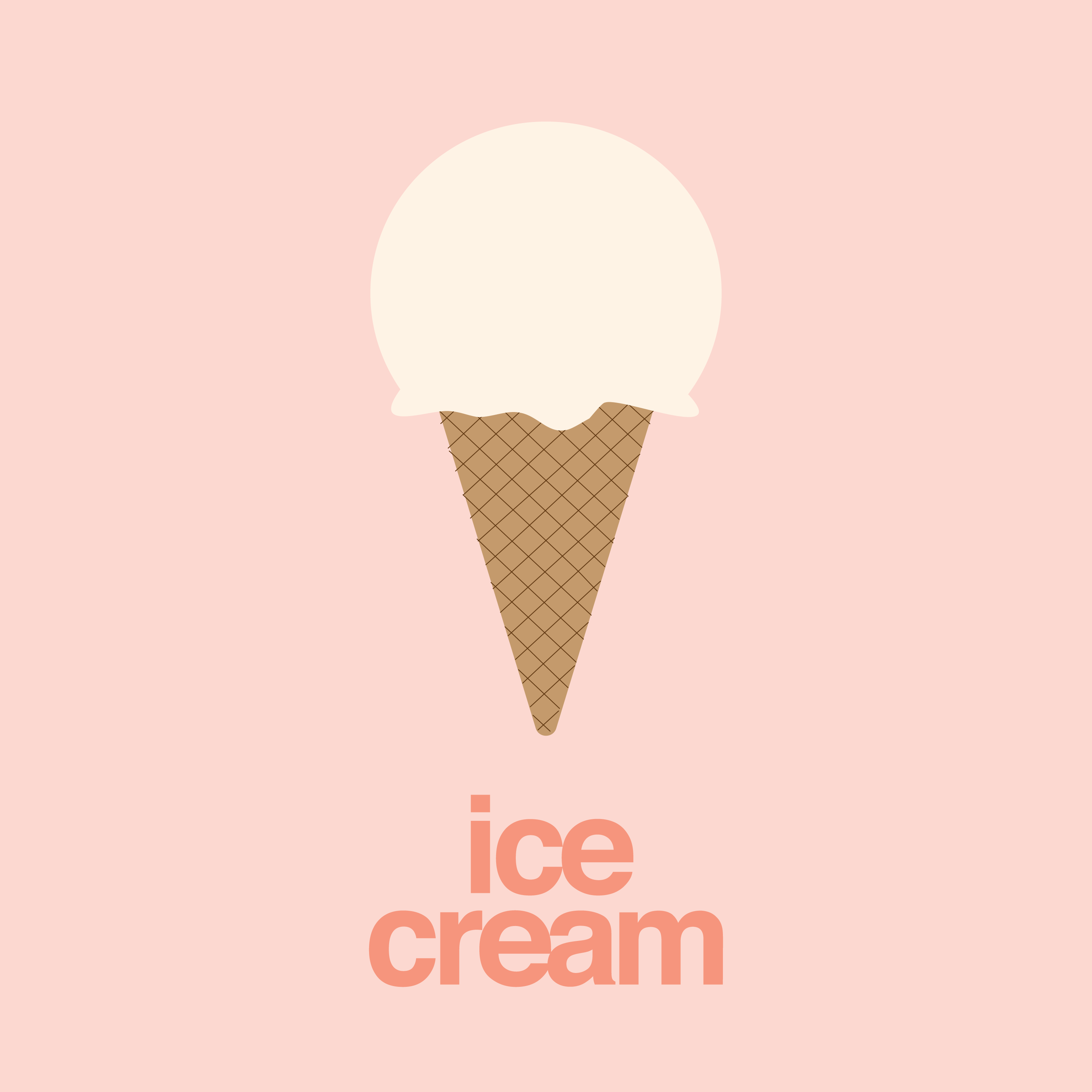 Melting Ice Cream Simple Wallpaper Designs: Pin By Carly Giles On GDES Projects