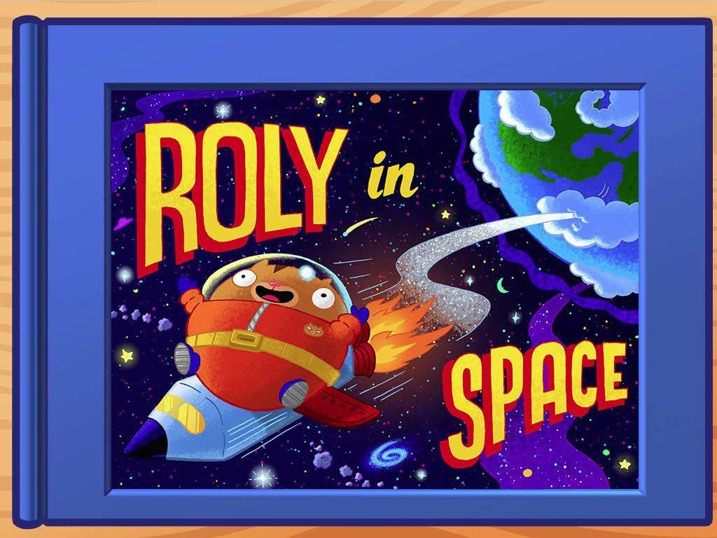 Roly in Space Interactive Storybook Free online