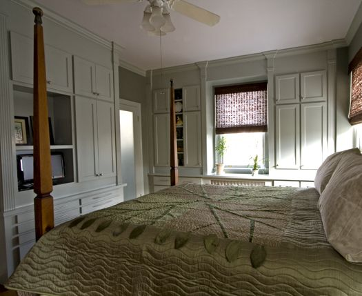 I Love Built In Storage! Bedroom Storage With Style    In A 1920u0027s