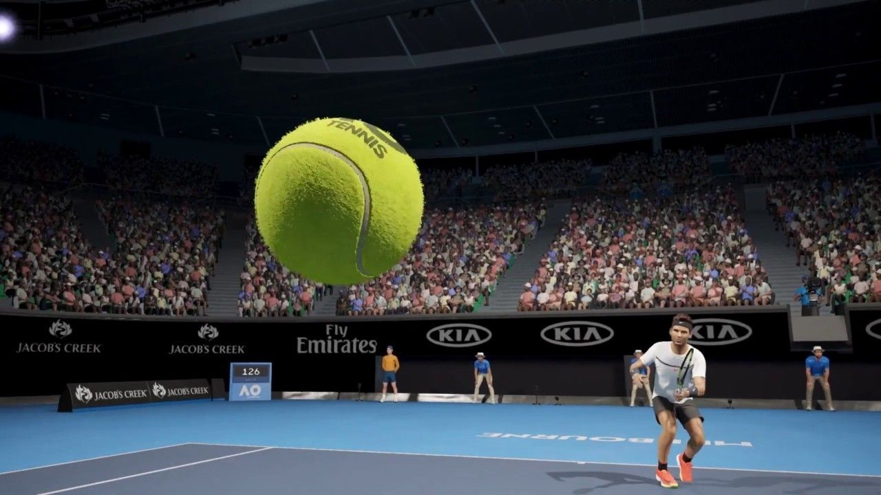 AO International Tennis Launch Trailer The tennis game