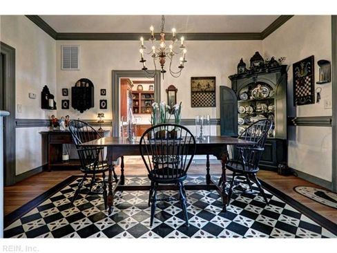 Location 9 (With images) | Colonial dining room, Colonial ...