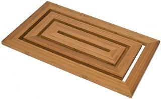 Bamboo Bathroom Duckboard Wooden Shower Mat Shower Bath Mats Shower Mat
