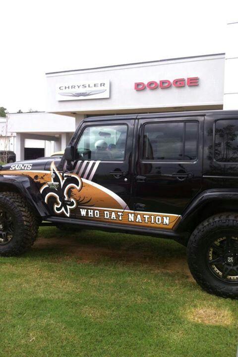 New Orleans Saints Jeep New Orleans Saints New Orleans Saints Football Saints Football
