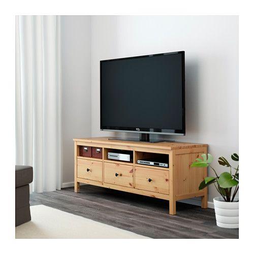 hemnes tv bank hellbraun meine neue wohnung pinterest hemnes tv bank tv bank und hemnes. Black Bedroom Furniture Sets. Home Design Ideas