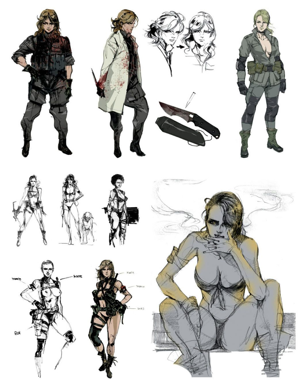 Quiet Concept Art From Metal Gear Solid V Art Artwork Gaming Videogames Gamer Gameart Conceptart Illustra Metal Gear Metal Gear Rising Metal Gear Solid