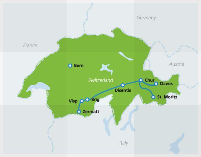 Glacier Express scenic train | Bernina express, Europe train ... on arctic circle map, lauterbrunnen map, cape town map, zermatt map, milan map, japan map, whistler village gondola map, aletsch glacier map, many glacier map, bahn glacier map, switzerland map, sydney map, lake garda map, bellinzona map, albania map, alps map, italy map, davos map,