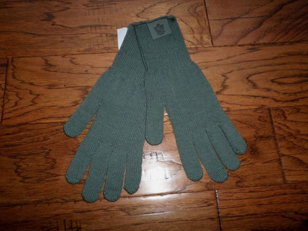 U S Military Issue D3a Cold Weather Glove Inserts Liners 100 Wool Size Large Cold Weather Gloves Cold Weather Gloves