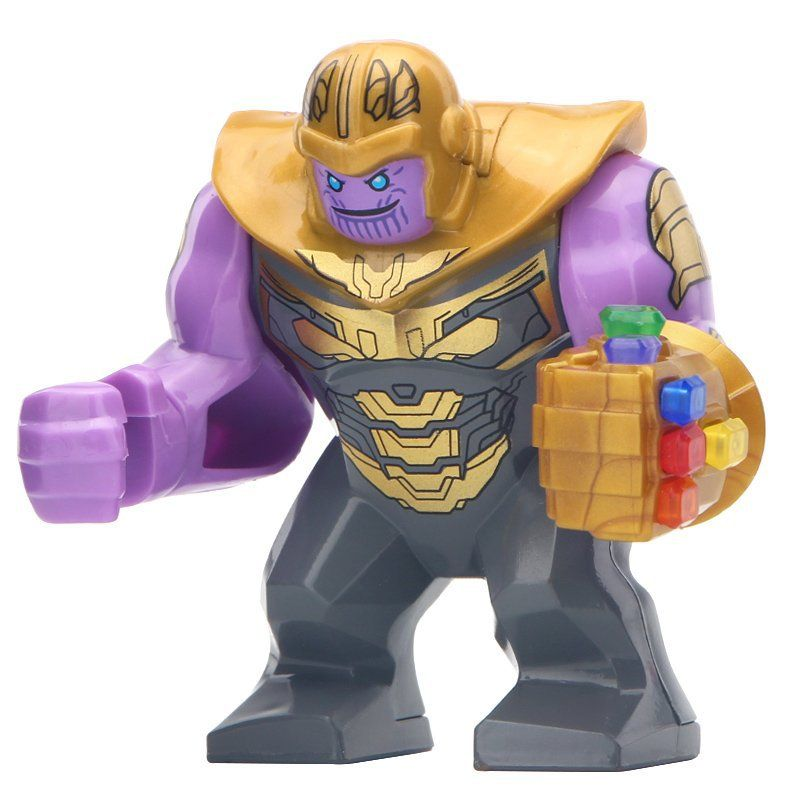 Super Heroes Venom Marvel Avengers Thanos Big Minifigures Compatible With Lego