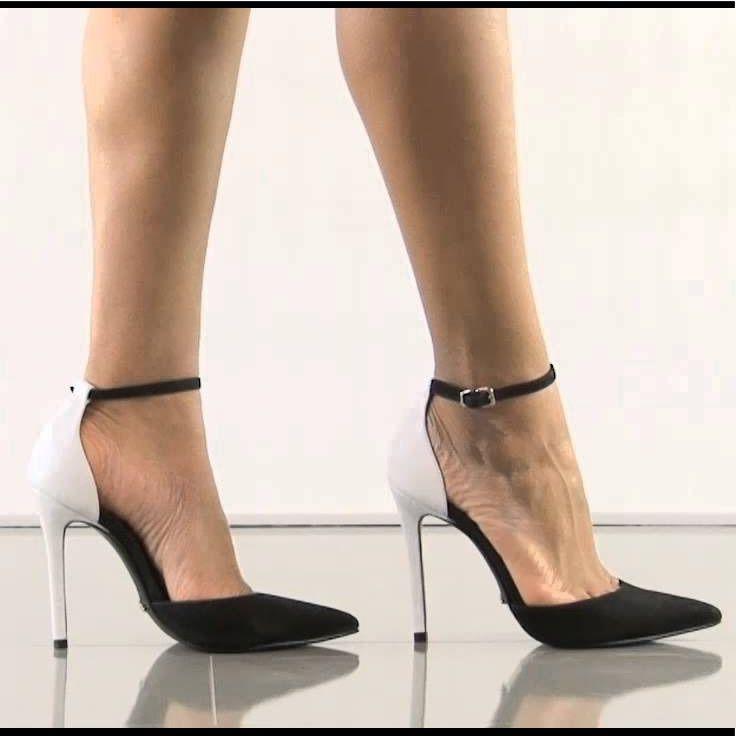 53f37ee8080 SCHUTZ Shoes | Schutz Irma-Nobuck Black And White Pumps | Color ...