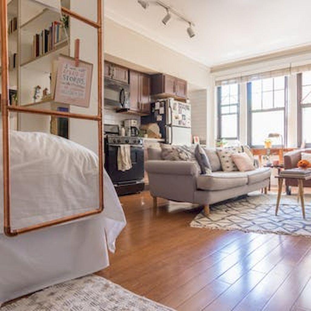 Adorable 60 Stylish Studio Apartment Decorating Ideas on A Budget https://homstuff.com/2017/10/14/60-stylish-studio-apartment-decorating-ideas-budget/