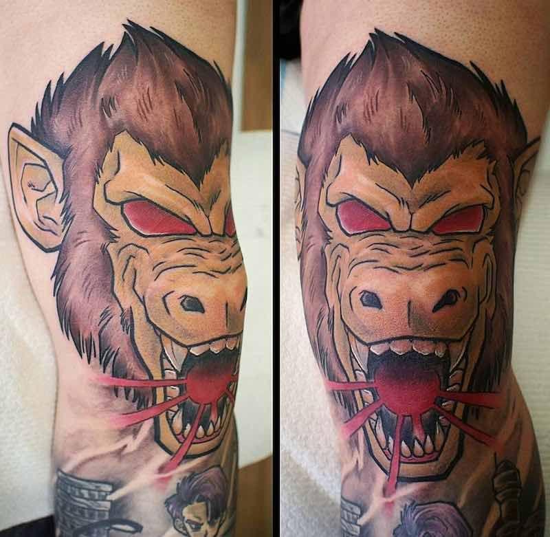 The Very Best Dragon Ball Z Tattoos Dragon Ball Tattoo