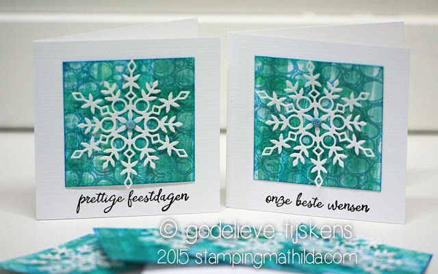StampingMathilda Idee für Gelli Prints!