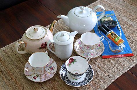 9 Terrific Ways to Repurpose Teapots and Tea Cups ... | All Women Stalk