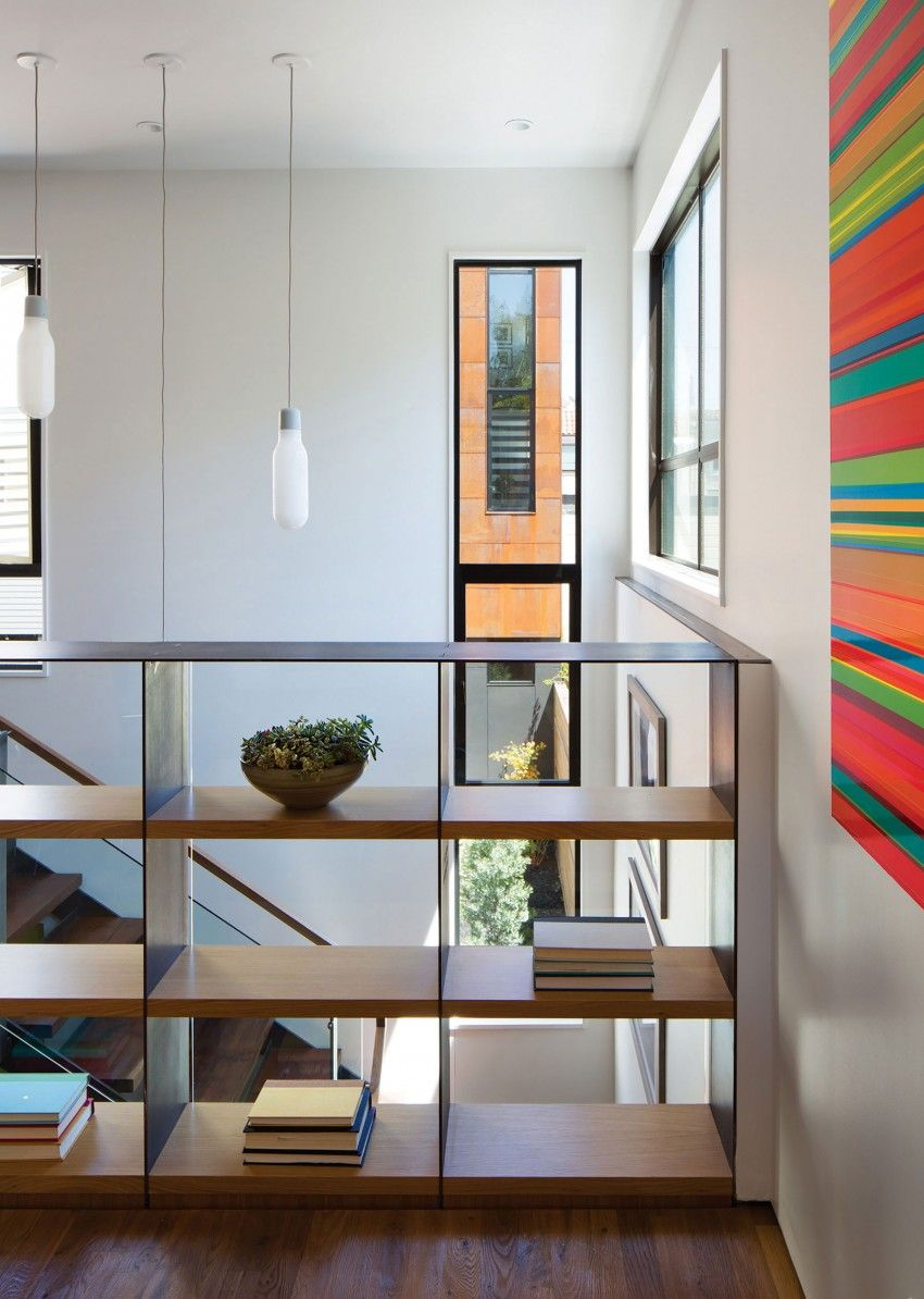 Steelhouse by zack architecture stair railing and interiors