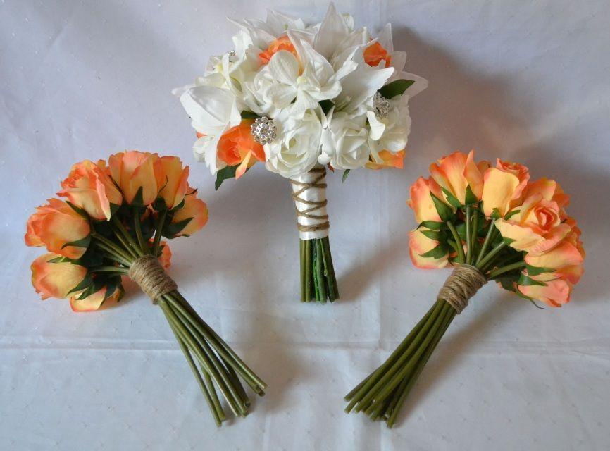 Silk Wedding Bouquets Online Just Fake It Bouquets