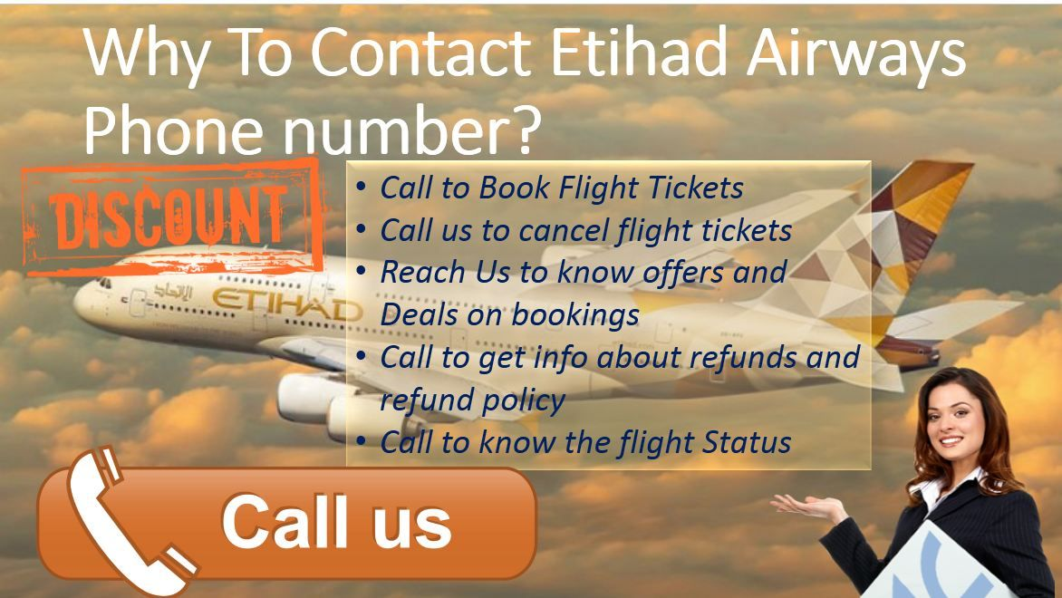 Etihad Airways Phone number Book flight tickets, Phone