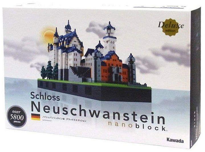 University Games Nanoblock Deluxe Edition Level 7 Schloss Neuschwanstein 5800 Pieces With Images Neuschwanstein Castle Cool Toys For Girls Cool Toys For Boys