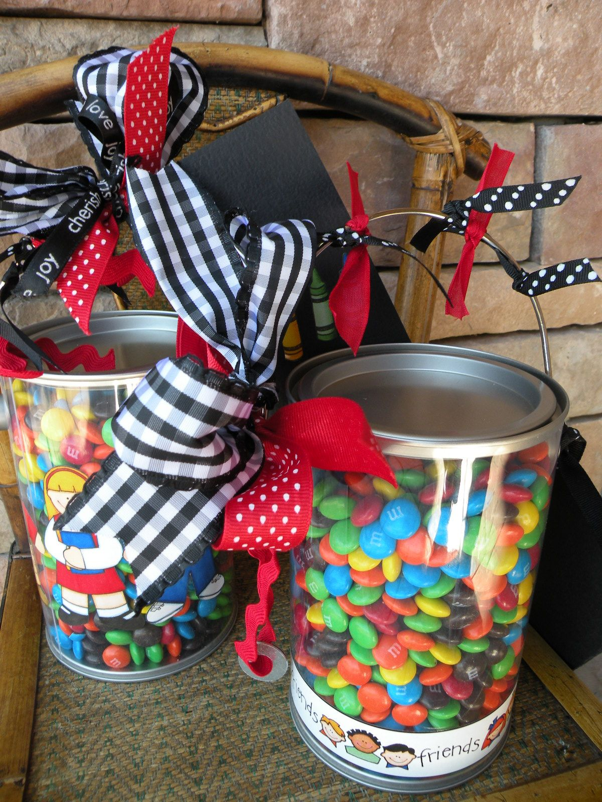 Teacher Appreciation Gifts You may remember the M&M Poem from last