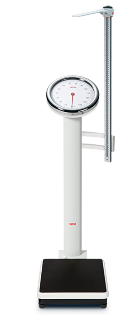 seca 786 Mechanical column scale including Measuring Road