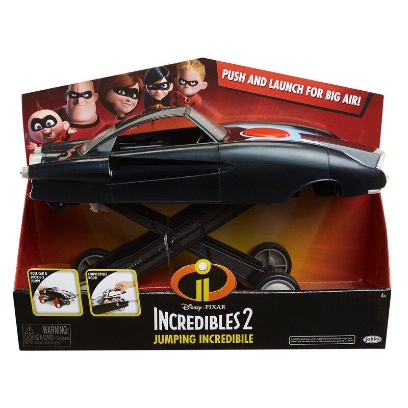 Disney Pixar Incredibles 2 Jumping Incredible Car