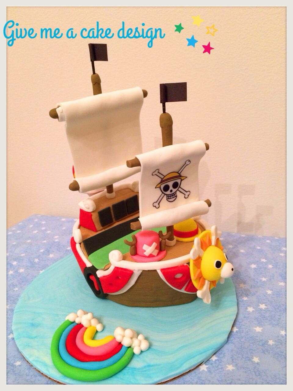 One Piece Boat Cake From Give Me A Customized Design Studio In Edison New Jersey