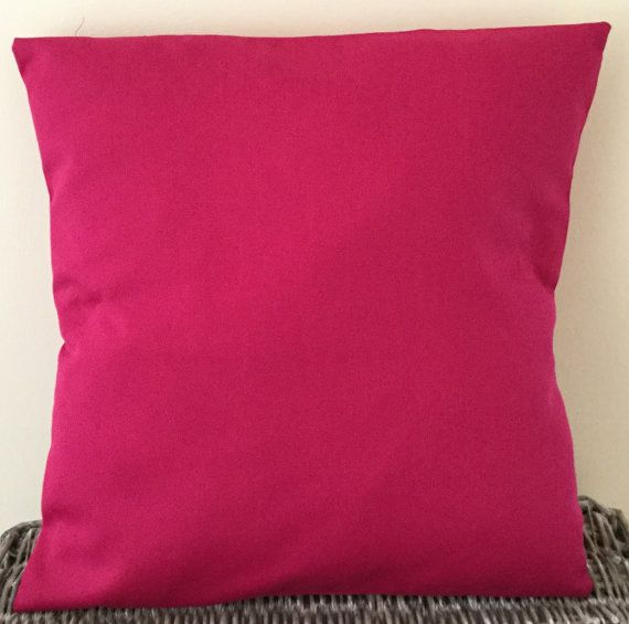 Bright Pink Handmade Cushion 16 X 40 5