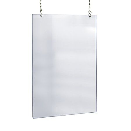 acrylic hanging poster frame