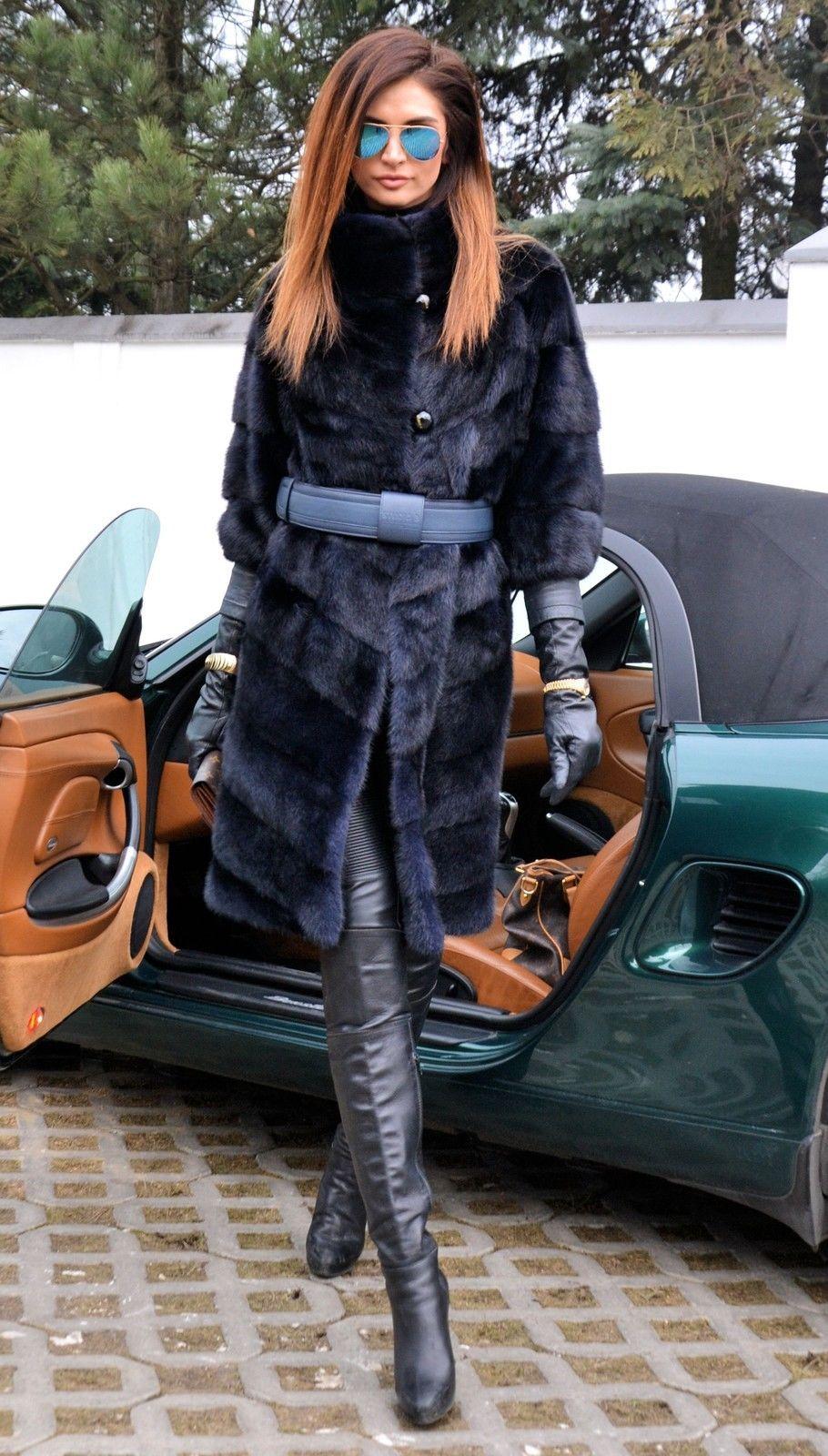 Modern mink fur coat   Winter   Fur fashion, Coat, Fashion ...