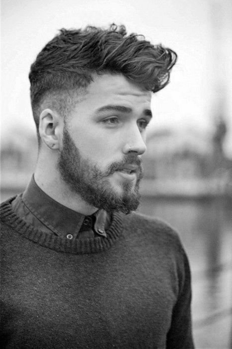 Fashionable Mens Haircuts. : 60 Mens Medium Wavy Hairstyles Manly Cuts With  Character