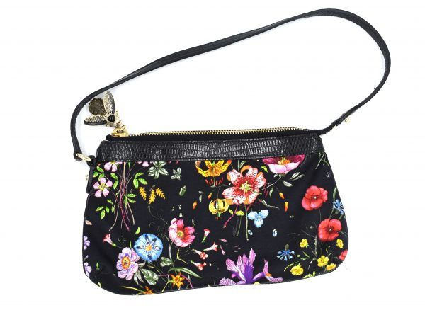 2320c013e708 Gucci Lizard Trimmed Flora Pochette Best Handbags, Fanny Pack, Flora, Hip  Bag,