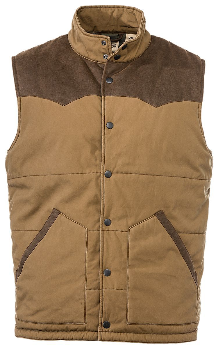 Redhead Ranch Collection Canvas Western Vest For Men Bass Pro Shops The Best Hunting Fishing Camping Outdoor Western Vest Mens Western Vest Vest [ 1199 x 750 Pixel ]