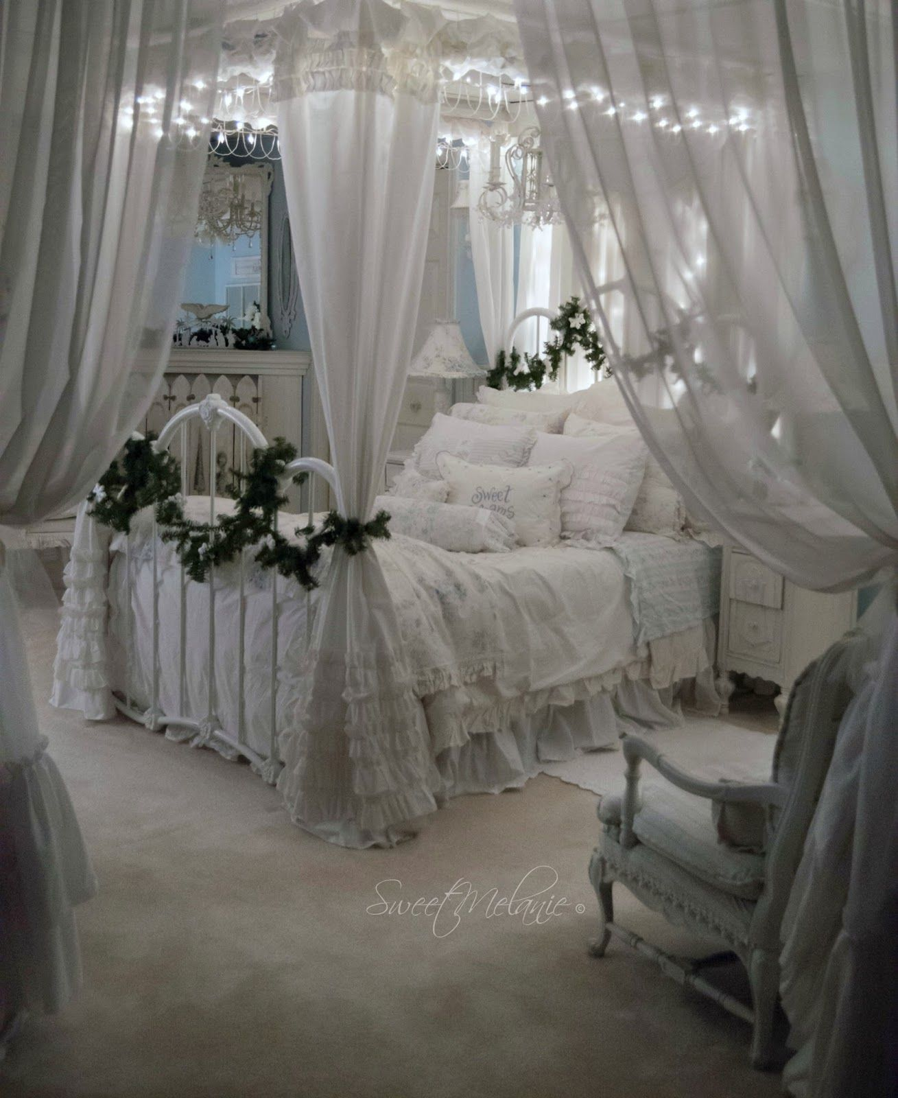 Shabby Chic Bedrooms: As Many Of You Know, Our Master Is Downstairs. It's A