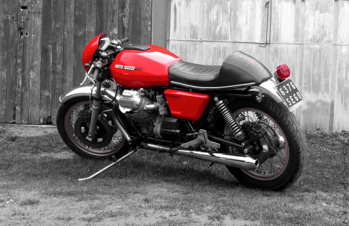 moto guzzi 850 t3 cafe racer moto guzzi cafes and cafe bike. Black Bedroom Furniture Sets. Home Design Ideas