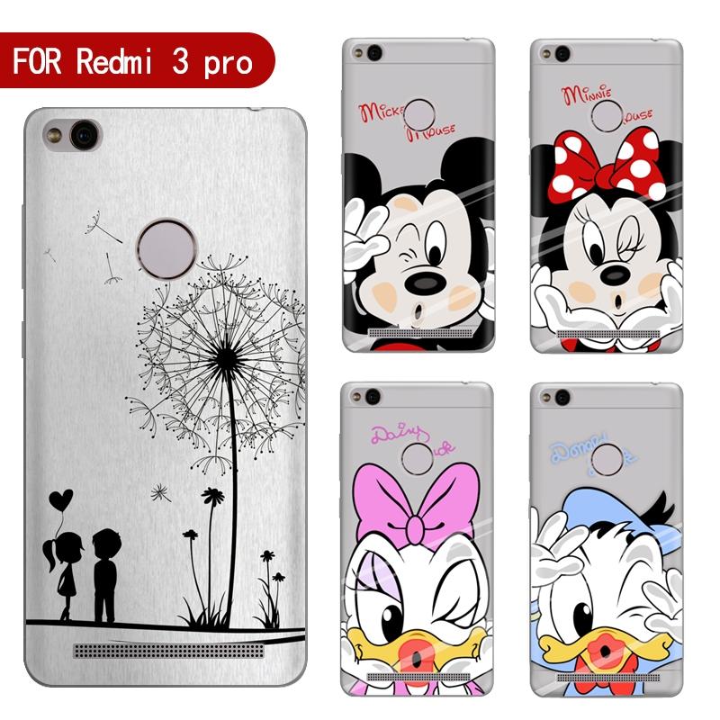 0.8 Buy here Phone case For Xiaomi Redmi 3 Pro 3s Cute