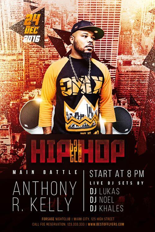 Hip Hop Battle Free Flyer Template Http Freepsdflyer Com Hip Hop Battle Free Flyer Template Enjoy Downloading Th Free Flyer Templates Flyer Template Flyer