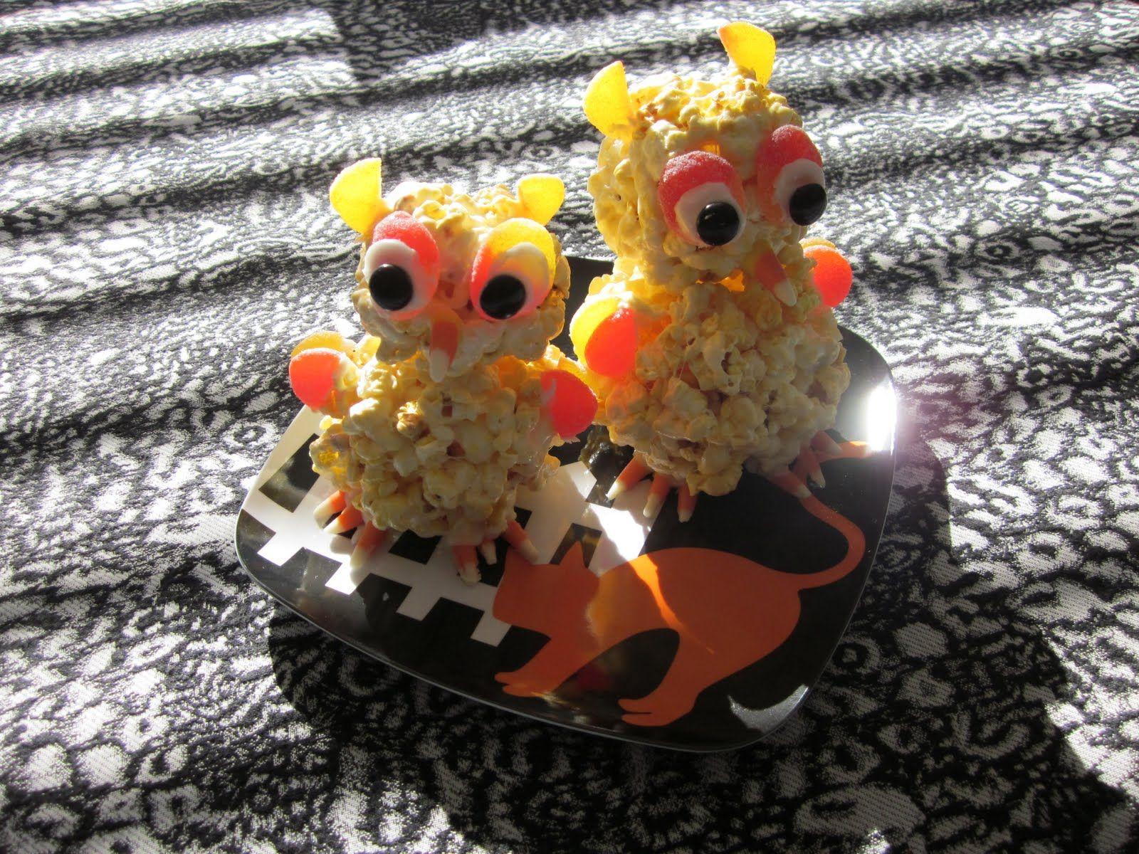 Popcorn Owls Fantastic! Popcorn, Owl, Food