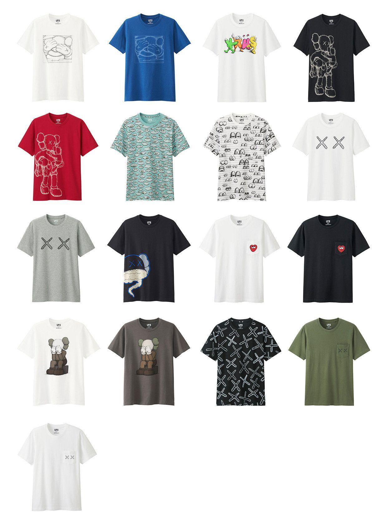 75c6635f Uniqlo x KAWS Collection   Style   Uniqlo, Clothes, Shirts